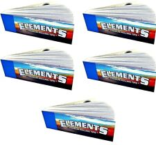 5x Elements Roll Up Filter Tips 50/Pk Chlorine/Chemical Free USA SHIPPING