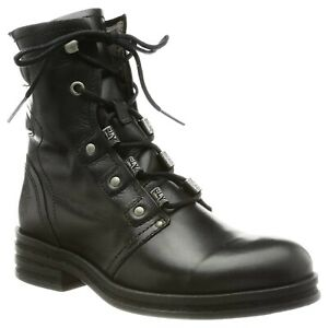 Fly London Womens Boots KNOT792FLY Casual Lace-Up Ankle Rug Leather