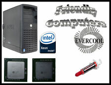 DELL PowerEdge SC1420 XEON 3.8GHz Matched pair CPU upgrade + Memory Fan bypass