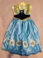 Disney Frozen Anna Summer Halloween Dress Up Costume 7/8
