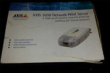 Axis Parallel (IEEE 1284) Enterprise Network Print Servers