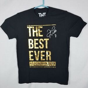 The Best Ever Floyd Mayweather Official TMT Boxing XL Graphic T Shirt Made In US