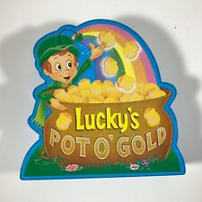 Sutton Place Collectible Plastic Coin Bank - Lucky Charms