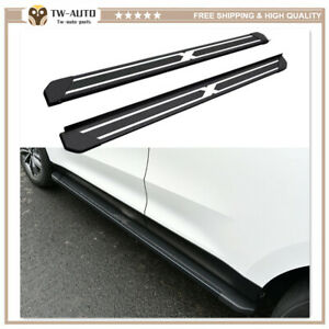 2Pcs Fits for Mazda CX-5 CX5 2012-2016 Running Boards Nerf Bar Side Steps Pedal