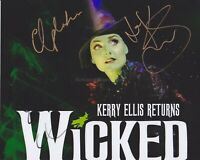 Kerry Ellis HAND SIGNED 8x10 Photo Autograph, Wicked The Musical Elphaba (F)