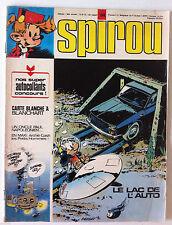 a) SPIROU n°1848  sans les autocollants et Indiens/ Carte Blanche à Blanchart