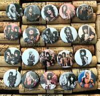 "1 1//4/"" size Pinback Buttons Pins JOHN PAUL RINGO GEORGE THE BEATLES Set of 20"