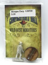 Knuckleduster GBF20 Morgan Earp (Gunfighter's Ball) Old West Gunslinger Hero NIB
