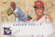 2018 Auburn Doubledays Carson Teel RC Rookie Washington Nationals