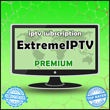 """12 Month"" Extreme Iptv +30000 Ch&Vods Worldwide ""Premium"" Iptv Subscription"