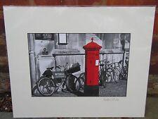 Kings College Cambridge Messenger Bicycle Service Landscape Photograph Art Print