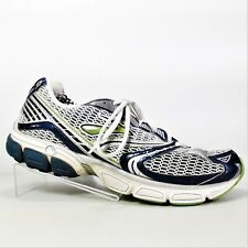Brooks Ghost 3 Go 2 Series Mens Silver Blue Green Athletic Shoes Size 10 M