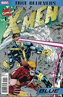 X-Men Comic Issue 1 Blue Classic Reprint True Believers Chris Claremont Jim Lee