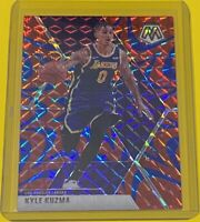 2019-20 Panini Mosaic Basketball Kyle Kuzma REACTIVE BLUE PRIZM Lakers #28 SP 🔥