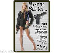 M88 Pistol 9mm Gun Refrigerator / Tool Box Magnet Man Cave