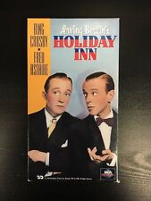 Holiday Inn Motion Picture VHS 1942 Bing Crosby Fred Astaire Comedy Musical Film
