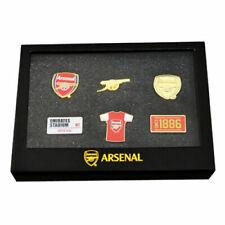 More details for arsenal fc 6 piece badge set enamel pin badge set birthday souvenir gift xmas
