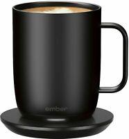 EMBER Mug² 14 oz  Black Temperature Control Smart Mug Set Your Drinking Temp NEW