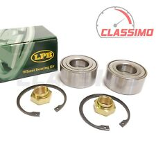 Front  Wheel Bearing Kit Pair - PEUGEOT 106 205 309 - models without ABS - 83-98