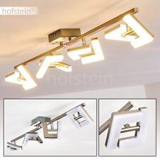 Plafonnier LED Design Lampe à suspension Lustre 4 branches Lampe de séjour Métal