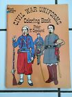 1977 DOVER Coloring Book CIVIL WAR UNIFORMS by Peter F. Copeland