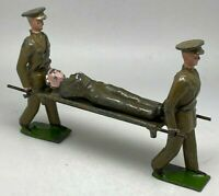 Rare Britains Ltd Stretcher Party & Wounded Lead Figures Toy soldiers