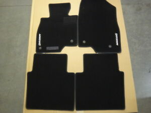 2014-2021 Mazda 6 Black Carpet Floor Mats (set of 4)  GJR968G20A02