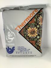 Thermore Hobbs Ultra Thin Non - Bearding Queen Size Batting New