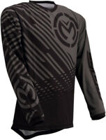 Moose Racing 2020 Adult Qualifier Motorcycle Jersey Gray/Black All Sizes
