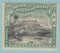 NORTH BORNEO 87 MINT HINGED OG *  NO FAULTS VERY FINE !