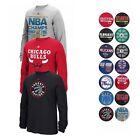 NBA Assortment of Team Logo Longsleeve T-Shirt Collection by ADIDAS - Men's