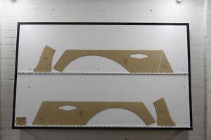 Holden HQ, HJ, HX, HZ Wagon Side Cargo Panels. Blank Trim Panels