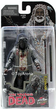 Skybound Exclusive The Walking Dead Ezekiel Black and White Bloody Action Figure