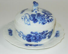Vintage Royal Copenhagen Blue Flower 1503~Dish Attached to Plate~Lid Top Cover