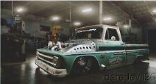 2016 Classic Car Studio Speed Shop '66 Chevy C10 Shop Truck SEMA Show info card