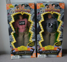 The Three Stooges Limited Edition Collector's Edition: Moe and Curly Figures