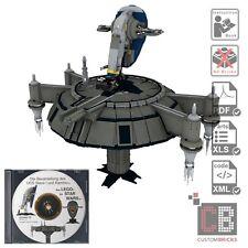 CB Eigenbau Bauanleitung Slave I 1 Kamino Plattform für Star Wars™ LEGO® Steine
