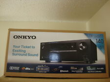 Onkyo - 700W 5.1-Ch. 4K Ultra HD & 3D Bluetooth Home Theater Receiver TX-SR353