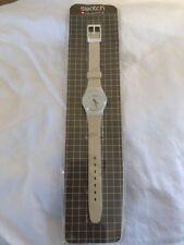 Vintage Ladies Swatch Watch 1983/1985 Tennis Grid NOS In Original Packaging