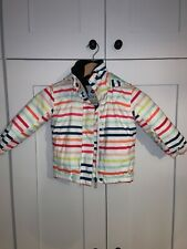 Girls Roxy Jetty Ski Jacket Striped Age 2
