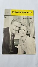 VINTAGE BROADWAY PLAYBILL #3 ANY WEDNESDAY BARBARA COOK GEORGE GAYNES MUSIC BOX
