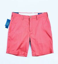 """Polo Ralph Lauren Men's Chino Shorts Red Stretch Classic Fit 9"""""""