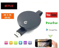 CHROMECAST 4 GOOGLE WIRELESS MIRASCREEN HDMI DISPLAY DONGLE MEDIA VIDEO STREAMER