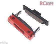 Bremse - Brems Beläge mit Aluminium halter für HPI BAJA Rovan   (MX049-OR)