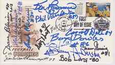 SIGNED 1966-67 PACKERS FDC AUTOGRAPHED FIRST DAY COVER (15 SIGNATURES)