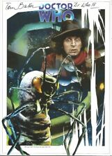 Doctor Who Official 'ARK IN SPACE' A4 Art Print - Signed person by Tom Baker
