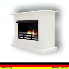 Ethanol Cheminee Fireplace Caminetto Chimenea Firegel Emily Deluxe Royal Blanc