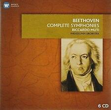 Riccardo Muti - Beethoven: 9 Symphonies And Overtures (NEW CD SET)