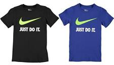 Nike Boys' Short Sleeve Sleeve 100% Cotton T-Shirts, Tops & Shirts (2-16 Years)