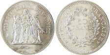 50  FRANCS  HERCULE  ARGENT  ,  1974    ,  FLEUR  DE  COIN